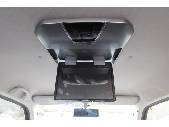 T ターボ フルエアロ ローダウン 車高調 HDDナビ フルセグTV フリップダウンモニター 社外16インチアルミホイール スマートキー HIDヘッドランプ オートエアコン ETC(28枚目)
