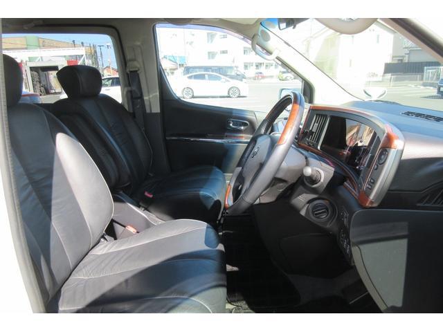 250ハイウェイスターブラックレザーナビED 両側パワースライドドア シートヒーター 運転席パワーシート 社外19インチアルミホイール ETC(22枚目)