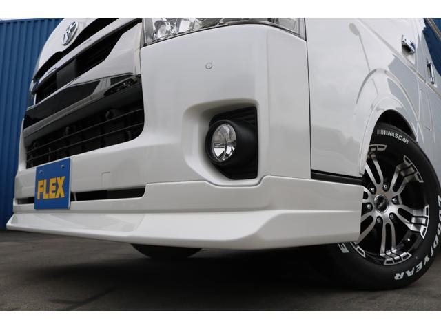 スーパーGL ダークプライムII FLEXオリジナルカスタム車両 地デジフルセグナビ ビルトインETC PVM全方位カメラ FLEXオリジナルスポイラー ローダウン FLEXオリジナルオーバーフェンダー FLEXオリジナルホイール(71枚目)