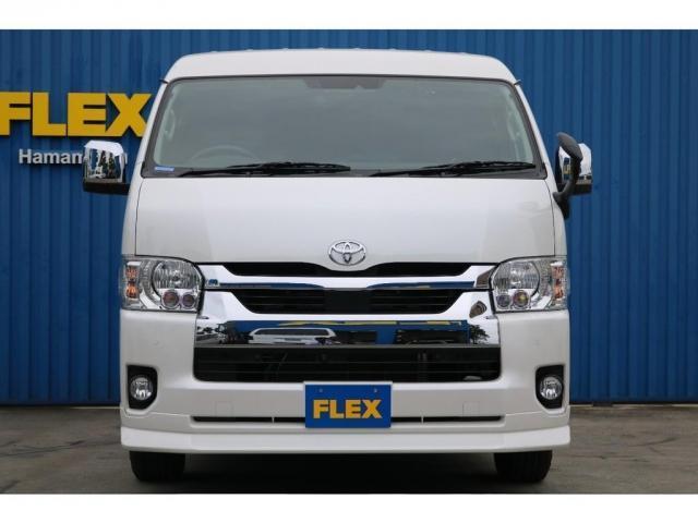 GL FLEXオリジナル内装架装Ver1 床貼り施工 ナビ ビルトインETC PVM全方位カメラ FLEXオリジナルスポイラー ローダウン FLEXオリジナルオーバーフェンダー FLEXオリジナルホイール(5枚目)