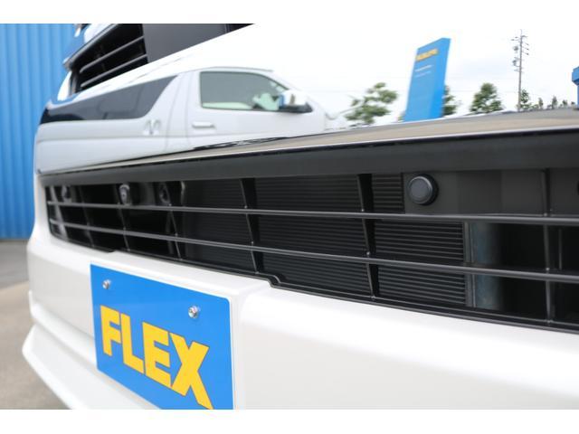 GL FLEXオリジナル内装架装Ver1 床貼り施工 ナビ ビルトインETC PVM全方位カメラ FLEXオリジナルスポイラー ローダウン FLEXオリジナルオーバーフェンダー FLEXオリジナルホイール(38枚目)