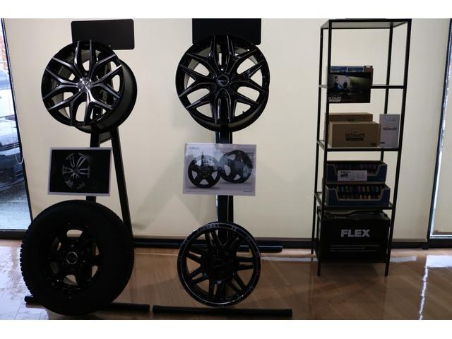 GL FLEXオリジナル内装架装Ver1 床貼り施工 ナビ ビルトインETC PVM全方位カメラ FLEXオリジナルスポイラー ローダウン FLEXオリジナルオーバーフェンダー FLEXオリジナルホイール(52枚目)
