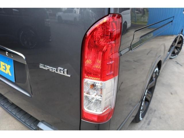 スーパーGL ダークプライムII ロングボディ 床貼り施工 FLEXオリジナルカスタム車両 地デジフルセグナビ ビルトインETC PVM全方位カメラ FLEXフロントスポイラー FLEXオーバーフェンダー FLEXアーバングランデホイール(13枚目)