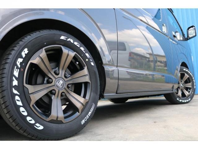 スーパーGL ダークプライムII ロングボディ 床貼り施工 FLEXオリジナルカスタム車両 地デジフルセグナビ ビルトインETC PVM全方位カメラ FLEXフロントスポイラー FLEXオーバーフェンダー FLEXアーバングランデホイール(14枚目)