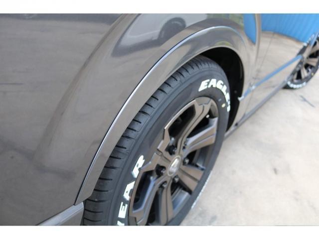 スーパーGL ダークプライムII ロングボディ 床貼り施工 FLEXオリジナルカスタム車両 地デジフルセグナビ ビルトインETC PVM全方位カメラ FLEXフロントスポイラー FLEXオーバーフェンダー FLEXアーバングランデホイール(15枚目)