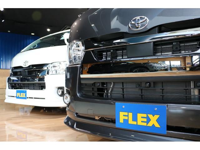 スーパーGL ダークプライムII ロングボディ 床貼り施工 FLEXオリジナルカスタム車両 地デジフルセグナビ ビルトインETC PVM全方位カメラ FLEXフロントスポイラー FLEXオーバーフェンダー FLEXアーバングランデホイール(54枚目)