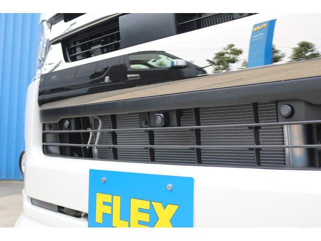スーパーGL ダークプライムII FLEXカスタム 跳ね上げベット付 ローダウン FLEXスポイラー FLEXホイールW-DEEPS グッドイヤーナスカータイヤ  SDナビ ビルトインETC PVM全方位カメラナビ連動加工済み(38枚目)