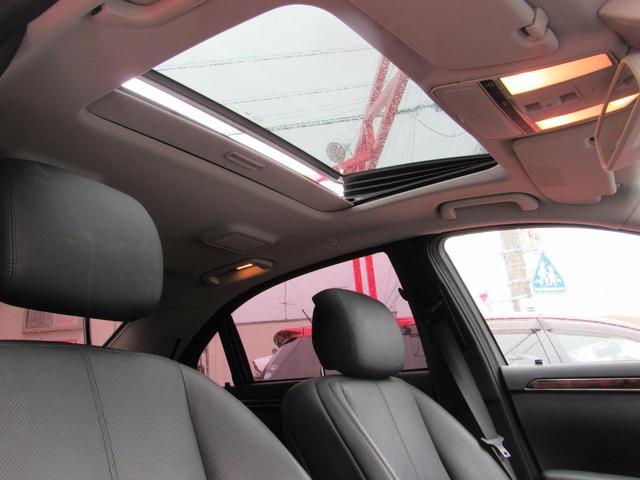 メルセデス・ベンツ M・ベンツ S550ロング 黒革 サンルーフ 20インチ ローダウン
