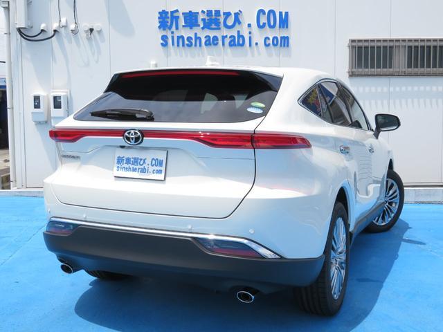Z レザーパッケージ 新車未登録 即納車2台有り T-ConnectSDナビ 12.3インチディスプレイ フルセグTV 調光パノラマルーフ バックガイドモニター 純正19インチAW LEDヘッドライト メーカー保証(3枚目)