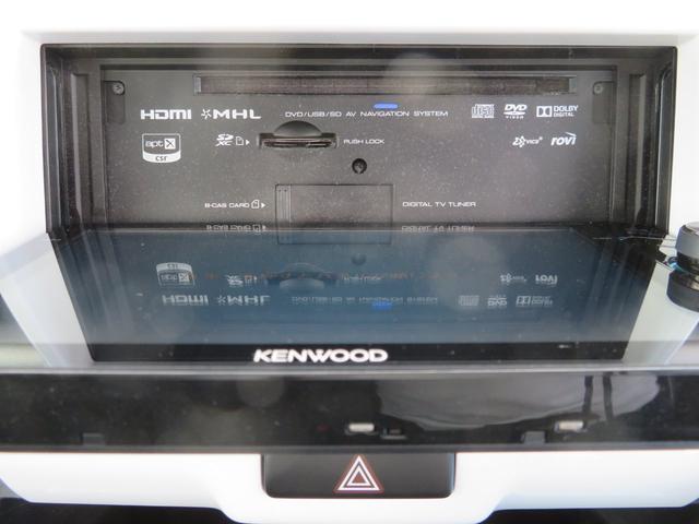 Xターボ 4WD レーダーブレーキ ケンウッドナビ フルセグTV Bluetooth スピーカー バックカメラ ETC シートカバー キセノン シートヒーター スマートキー アイドリングストップ コンビハンドル(28枚目)