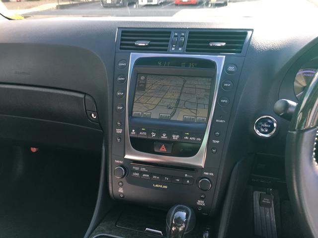 レクサス GS GS450h バージョンI サンルーフ HDDナビ フルセグ