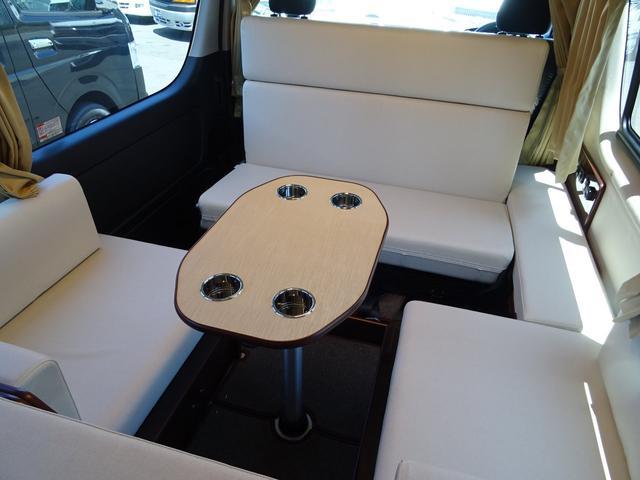 トヨタ ハイエースバン キャンピングカー FOCS ディパーチャー 4WD パワスラ