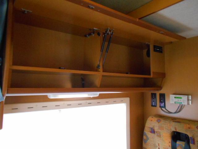 収納スペースもしっかりと装備されております!