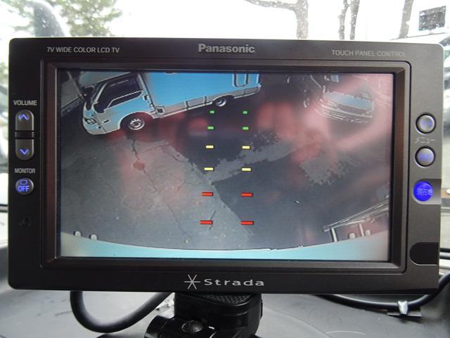 バックカメラ装備されておりますので安心して駐車いただけます♪