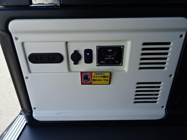 スーパーGL ダークプライム MRTII ベッドキット 補助バッテリー 350WインバーターSDナビ フルセグ・DVD視聴可能 LEDヘッドランプ 両側パワスラ バックカメラ スマートキー(9枚目)