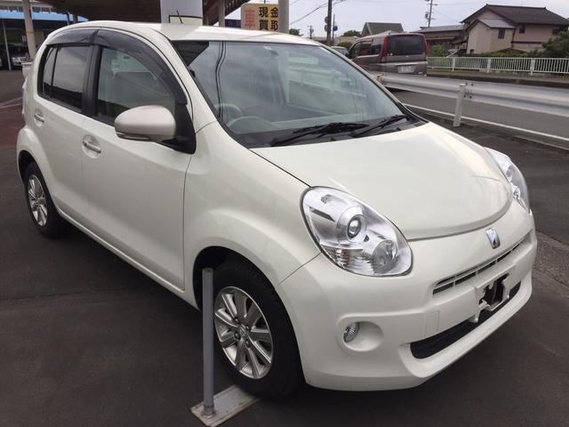 「トヨタ」「パッソ」「コンパクトカー」「静岡県」の中古車4