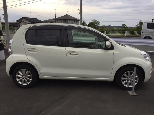 「トヨタ」「パッソ」「コンパクトカー」「静岡県」の中古車5