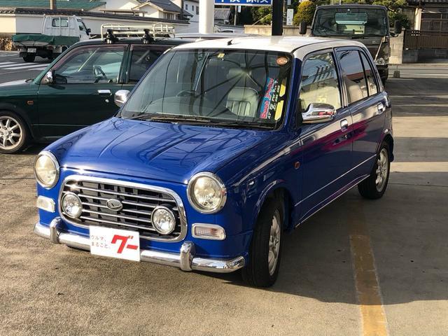 「ダイハツ」「ミラジーノ」「軽自動車」「静岡県」の中古車3