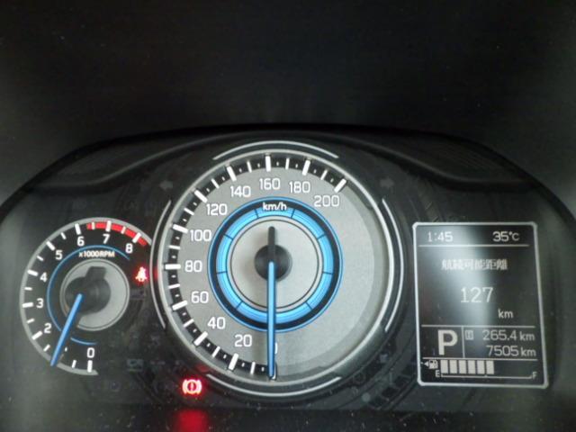 走行距離7505KMで、まだまだ低走行車両です!