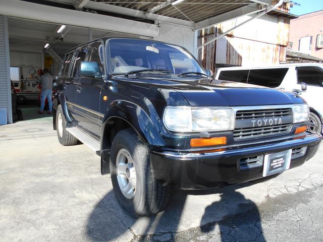 「トヨタ」「ランドクルーザー80」「SUV・クロカン」「静岡県」の中古車3