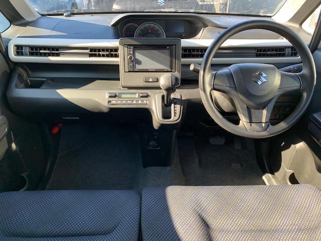 HV FX ナビ フルセグTV 禁煙車 Iストップ Sヒーター キーレス オートAC ベンチシート 15AW エコカー減税対象車 DVD USB PVガラス 電動格納ミラー WエアB ABS 横滑防止(5枚目)