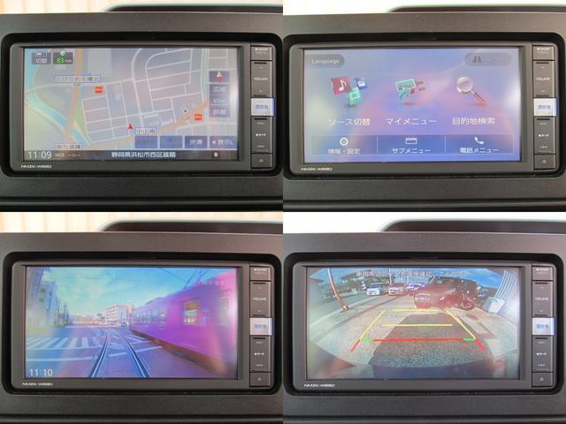 X 電動ドア/ナビTV/Btooth/LED/Bカメラ/ETC/Iストップ/衝突軽減/障害物センサ/スマートキー/プッシュST/DVD再生/前席シートヒータ/イモビ/オートライト/サンシェード/オートAC(7枚目)