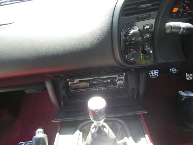 130系後期モデル6MT 赤黒革シート 純正アルミ 禁煙車(16枚目)