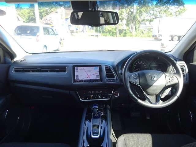 安心して運転できる、視界のよさと、運転のしやすさ。