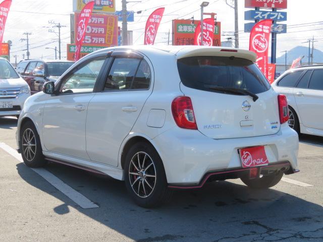 「日産」「マーチ」「コンパクトカー」「静岡県」の中古車8