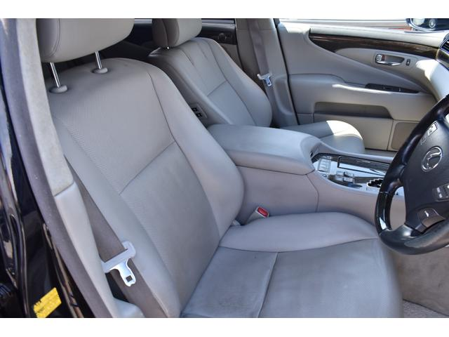 LS600hL後席セパレートシートパッケージ サンルーフ(6枚目)