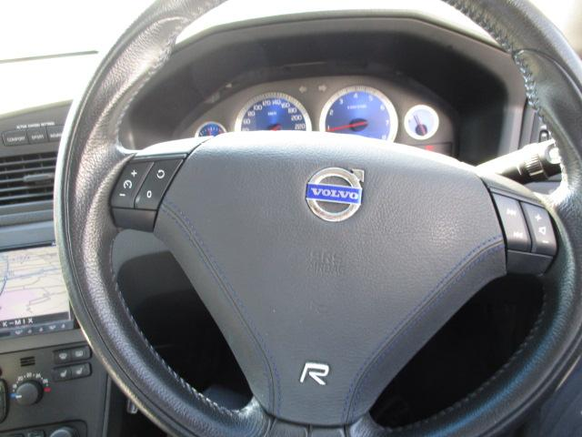 ボルボ ボルボ V70 R AWD 社外インパネナビ 地デジ 社外18インチホイール