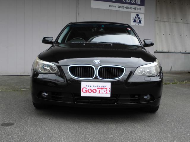 BMW BMW 525iハイラインパッケージ ナビ 黒革 サンルーフ
