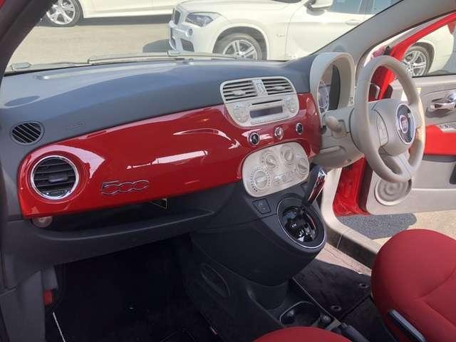 フィアット フィアット 500 1.2 ポップ 女性オーナー 買取車両 キーレス