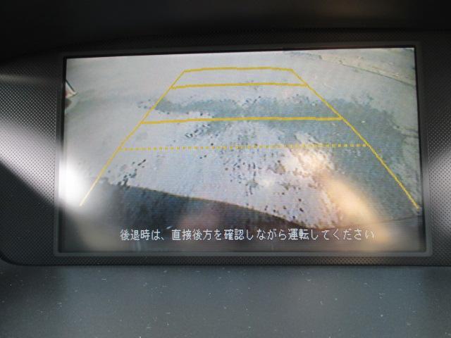 アブソルート HDDインターナビ Bカメラ ETC 後期モデル 18AW 純正エアロ ハーフレザーシート(15枚目)