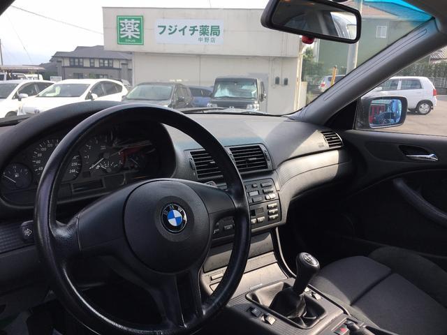 BMW BMW 318Ci Mスポーツ 左ハンドル エアロ 5MT