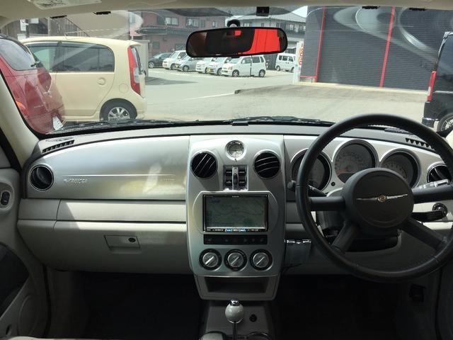 クライスラー クライスラー PTクルーザー リミテッド HDDナビ サンルーフ ターボ レザーシート