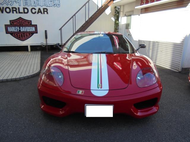フェラーリ フェラーリ 360 モデナ チャレンジストラダーレ F1 左ハンドル