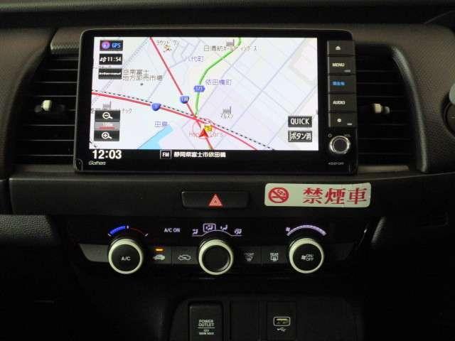 ベーシック 当社元レンタカー ギャザズナビ Bカメラ ETC フルセグ DVD CD録音 Bluetooth 追突軽減ブレーキ スマートキー アイドリングストップ 禁煙車 新車保証継承(2枚目)