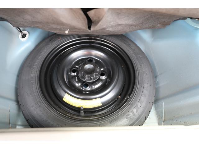 スペアタイヤもしっかり装備しています!いざという時に使えるように定期的なエアーチェックを忘れずに!