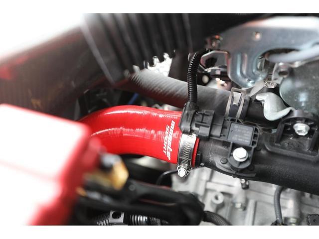 ベースグレード モンスタースポーツ(ECU N1-B・マフラー・インテークキット) アールズリアバンパー トラストカーボンウィング SWKカーボンフロントグリル ブリッツ車高調 デフィーN2ブースト計 イルミ ナビ(6枚目)