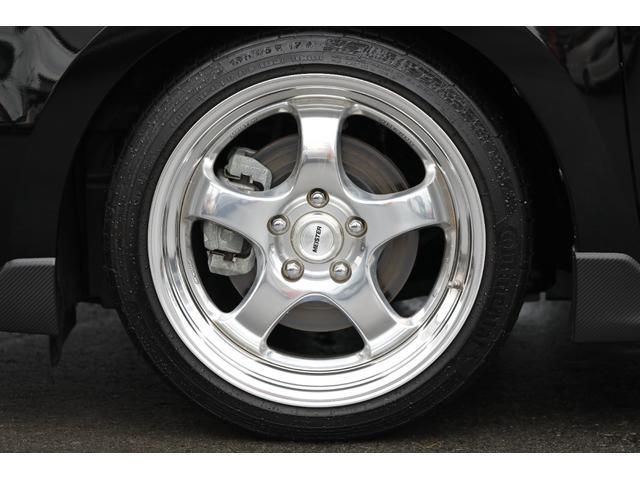 ベースグレード モンスタースポーツ(ECU N1-B・マフラー・インテークキット) アールズリアバンパー トラストカーボンウィング SWKカーボンフロントグリル ブリッツ車高調 デフィーN2ブースト計 イルミ ナビ(33枚目)