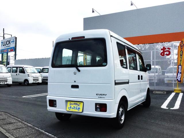 スズキ エブリイ PA 4WD エアコン パワステ WエアB 走行2.2万キロ