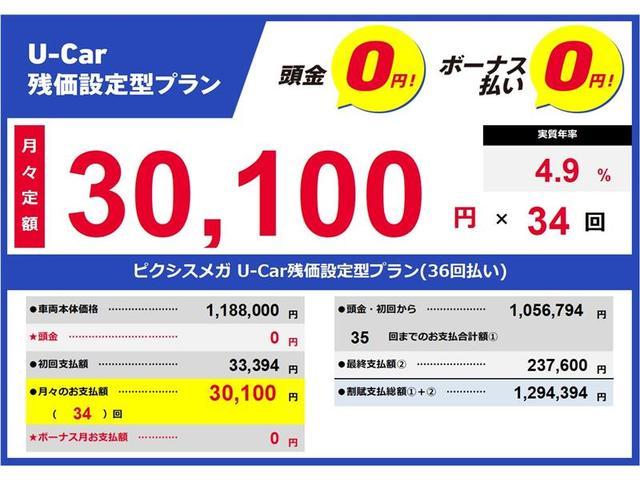 「トヨタ」「ピクシスメガ」「コンパクトカー」「静岡県」の中古車3