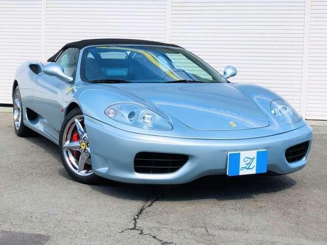 「フェラーリ」「360」「オープンカー」「静岡県」の中古車21