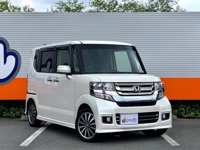 「ホンダ」「N-BOXカスタム」「コンパクトカー」「静岡県」の中古車2