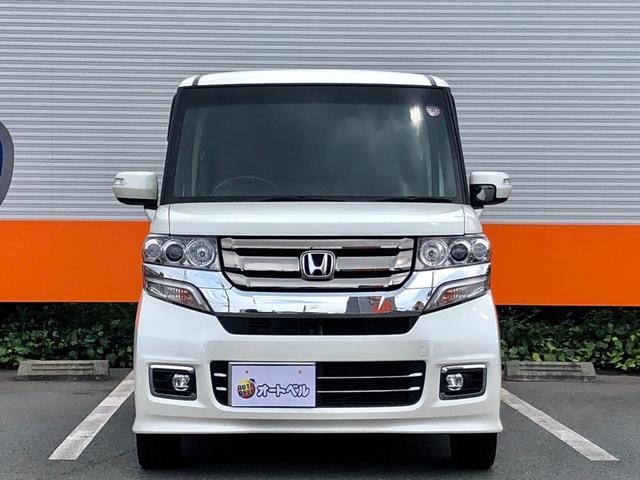 「ホンダ」「N-BOXカスタム」「コンパクトカー」「静岡県」の中古車3
