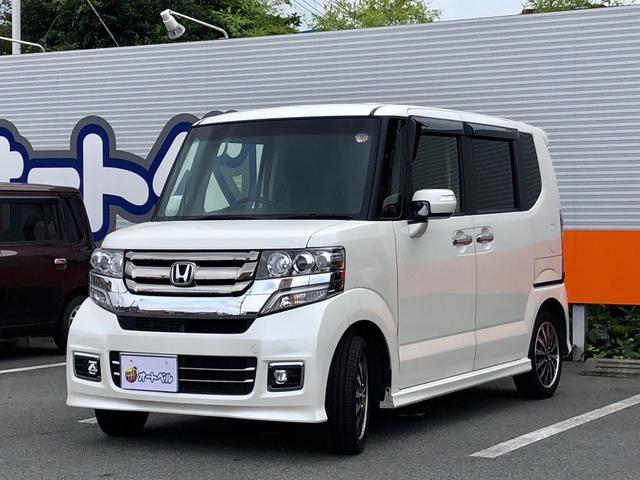 「ホンダ」「N-BOXカスタム」「コンパクトカー」「静岡県」の中古車4
