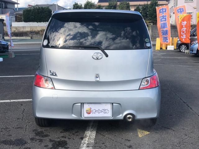 「トヨタ」「bB」「ミニバン・ワンボックス」「静岡県」の中古車18