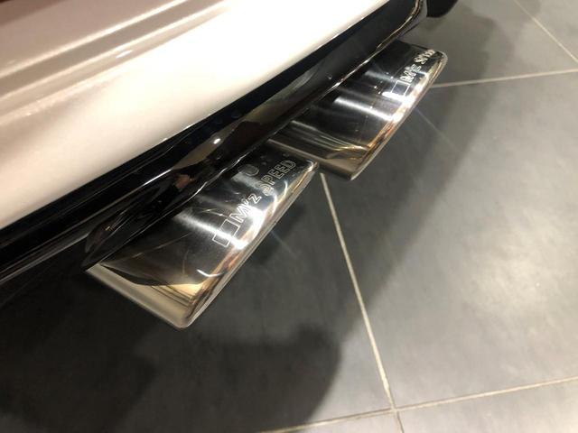 TX Mz新車コンプリート ムーンルーフ クリアランスソナー 寒冷地仕様 ホワイトパール コンプリート内容 エアロ ツートンペイント フロントグリル 4本出しマフラー 22インチ ステンラスピラー(14枚目)