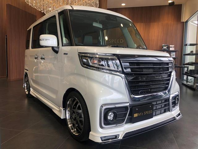 ハイブリッドXSターボ M'z新車コンプリート 車高調Ver(4枚目)